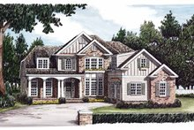 Country Exterior - Front Elevation Plan #927-604