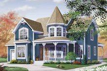 House Plan Design - Victorian Exterior - Front Elevation Plan #23-2345