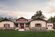 Craftsman Style House Plan - 3 Beds 2.5 Baths 3641 Sq/Ft Plan #928-266