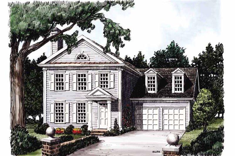 Classical Exterior - Front Elevation Plan #927-712 - Houseplans.com