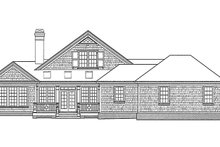 Home Plan - Classical Exterior - Other Elevation Plan #429-248