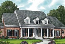 House Plan Design - Classical Exterior - Front Elevation Plan #453-335
