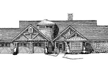 Dream House Plan - Ranch Exterior - Front Elevation Plan #942-35