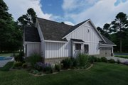 Farmhouse Style House Plan - 4 Beds 2 Baths 2459 Sq/Ft Plan #120-265 Exterior - Other Elevation