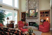 European Interior - Family Room Plan #927-24