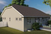 Ranch Style House Plan - 3 Beds 2 Baths 2056 Sq/Ft Plan #1060-101 Exterior - Other Elevation