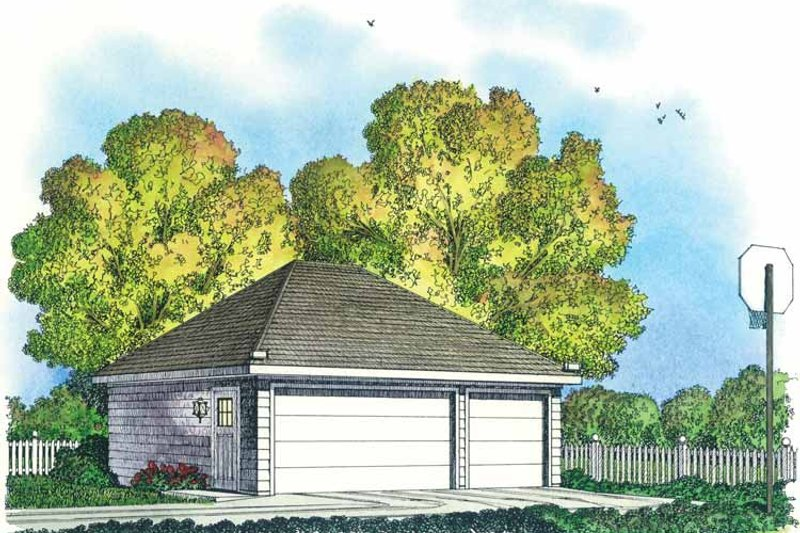 Home Plan - Colonial Exterior - Front Elevation Plan #1016-86