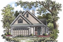 Ranch Exterior - Front Elevation Plan #929-825