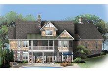 Dream House Plan - Craftsman Exterior - Rear Elevation Plan #929-909