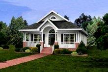 Cottage Exterior - Front Elevation Plan #56-232