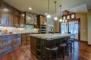 Craftsman Style House Plan - 3 Beds 3.5 Baths 2554 Sq/Ft Plan #892-29 Interior - Kitchen