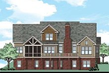 House Plan Design - Country Exterior - Rear Elevation Plan #927-434