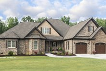 Dream House Plan - Country Exterior - Front Elevation Plan #929-969