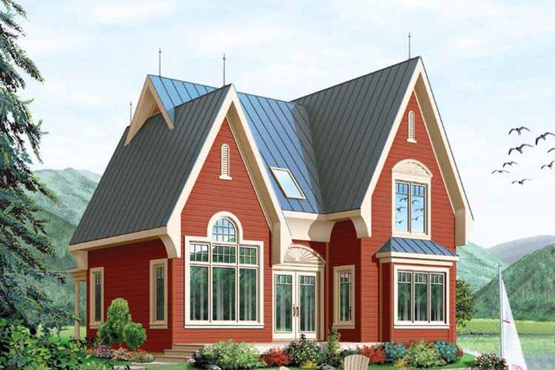 House Plan Design - European Exterior - Front Elevation Plan #23-2459