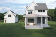 Farmhouse Style House Plan - 5 Beds 5.5 Baths 4034 Sq/Ft Plan #1070-112 Exterior - Rear Elevation