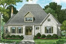 Home Plan - European Exterior - Front Elevation Plan #453-169