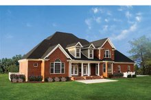 Dream House Plan - Traditional Exterior - Rear Elevation Plan #929-696