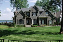 Architectural House Design - Country Exterior - Front Elevation Plan #453-249