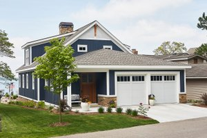 Dream House Plan - Farmhouse Exterior - Front Elevation Plan #928-344