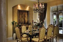 Home Plan - Mediterranean Interior - Dining Room Plan #930-417