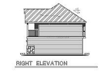 House Plan Design - Traditional Exterior - Other Elevation Plan #18-319