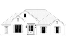 Architectural House Design - Traditional Exterior - Front Elevation Plan #430-214