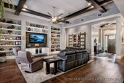Bungalow Style House Plan - 3 Beds 3.5 Baths 3108 Sq/Ft Plan #930-19 Interior - Family Room