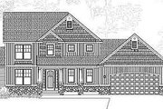 Traditional Style House Plan - 3 Beds 3 Baths 2144 Sq/Ft Plan #49-217