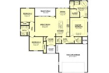 European Floor Plan - Main Floor Plan Plan #430-65
