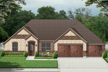 Home Plan - European Exterior - Front Elevation Plan #84-589