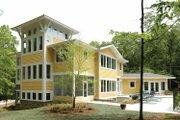 Prairie Style House Plan - 3 Beds 3 Baths 4322 Sq/Ft Plan #928-38 Exterior - Rear Elevation