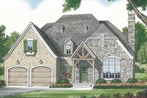 Home Plan - Country Exterior - Front Elevation Plan #453-442