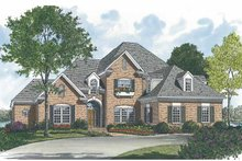 Architectural House Design - Traditional Exterior - Front Elevation Plan #453-526