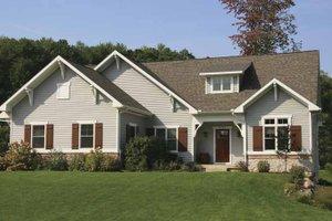 Craftsman Exterior - Front Elevation Plan #928-123