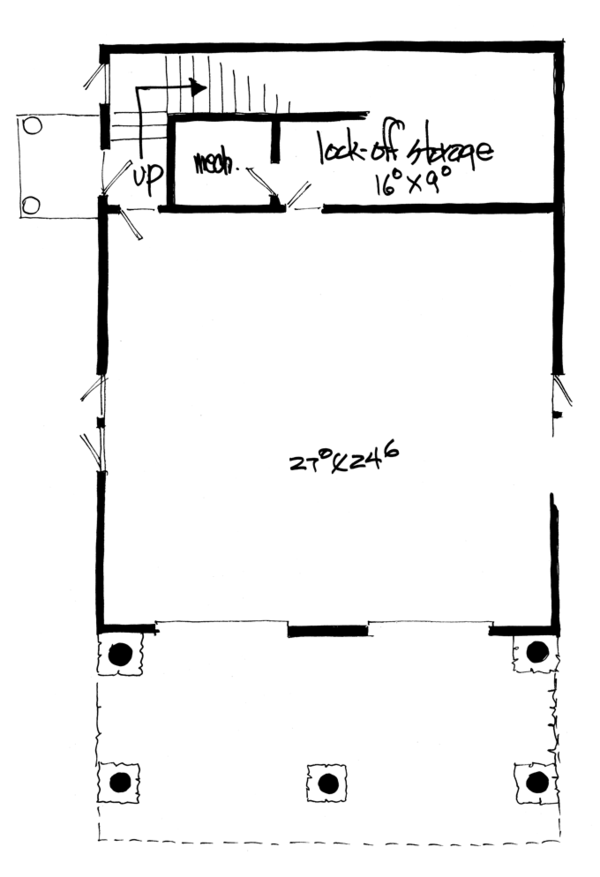 Country Floor Plan - Other Floor Plan Plan #942-20