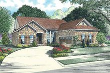 Home Plan - European Exterior - Front Elevation Plan #17-2924