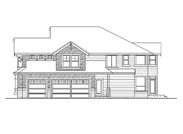 Craftsman Floor Plan - Other Floor Plan Plan #132-406