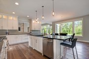 Traditional Style House Plan - 4 Beds 3.5 Baths 4606 Sq/Ft Plan #928-329 Interior - Kitchen
