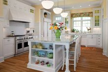 House Design - Colonial Interior - Kitchen Plan #928-179