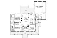 Traditional Floor Plan - Main Floor Plan Plan #137-367