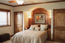 Mediterranean Interior - Bedroom Plan #70-1399
