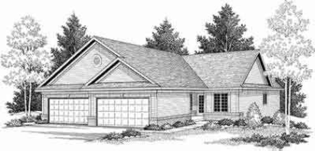 Traditional Exterior - Front Elevation Plan #70-655