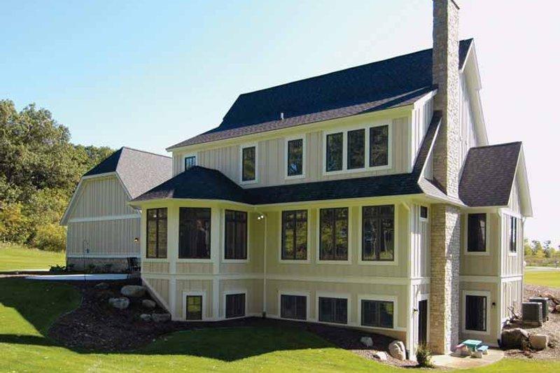 Craftsman Exterior - Rear Elevation Plan #928-172 - Houseplans.com