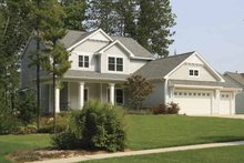 Country Exterior - Front Elevation Plan #928-160