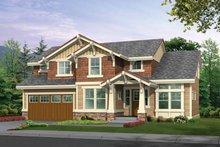 Craftsman Exterior - Front Elevation Plan #132-303