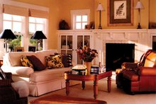 House Plan Design - Traditional Interior - Family Room Plan #928-46