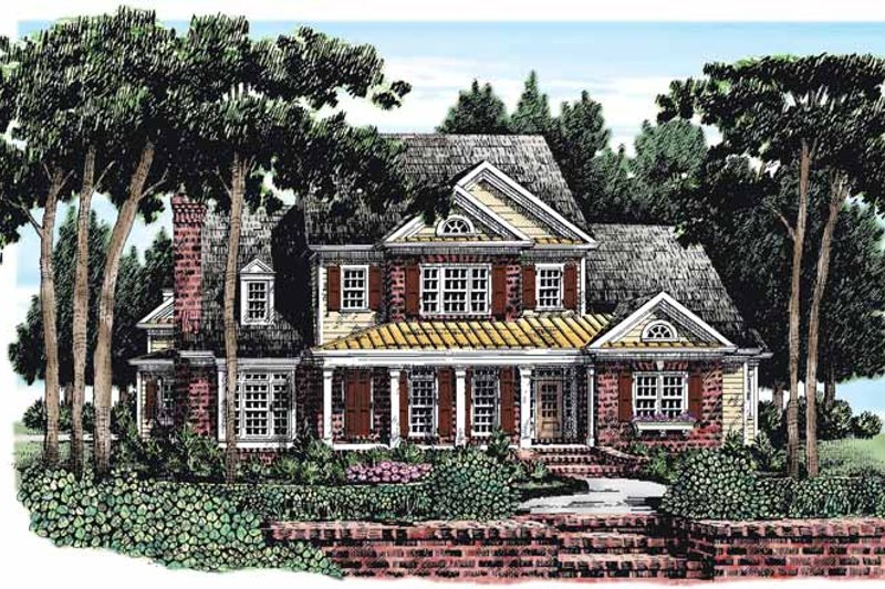 Country Exterior - Front Elevation Plan #927-260 - Houseplans.com