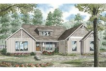 Country Exterior - Front Elevation Plan #17-3289