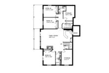 Ranch Floor Plan - Lower Floor Plan Plan #117-850