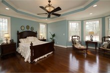 House Plan Design - Traditional Interior - Master Bedroom Plan #927-958